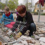 """Bauarbeiten Kletterinsel """"Kinder Reich"""" gestartet"""